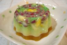 Dessert_jelly/pudding / for jelly, pudding and kuih / by Peony Tan