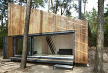 Cabins! / by Inhabitat