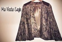 IDEES - Vestes, Manteaux en couture  - Couture / inspiration de Vestes, manteaux ...