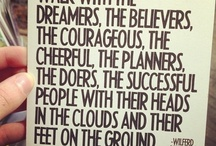 Inspiration ❤ / That little extra motivation!