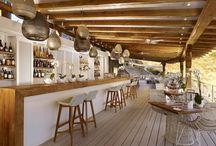Mediterranean seaside villas