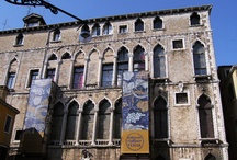 Museo Fortuny / The Palazzo Fortuny is an art museum in San Marco, Venice, Italy. Once owned by the Pesaro family, this Gothic building was transformed by Mariano Fortuny into his own photography, stage-design, textile-design and painting atelier. The building maintains the structure created by Fortuny, as well as its collections. The collections within the museum comprise an extensive number of pieces which reflect the various fields investigated by the artist.