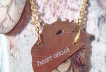 Love & Friendship Jewelry / Love themed Jewelry