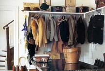 Mud Rooms / Tack Rooms / Equestrian Interiors