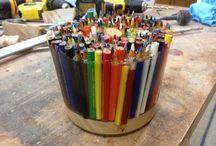 Colored pencil craft