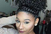 Natural Hair Styles Natural Beauty