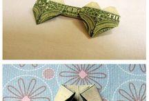 Origami z peňazí