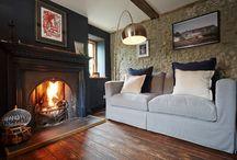Dark Fireplaces