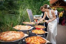 Food on a wedding day