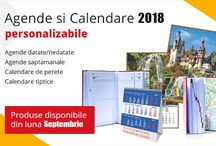 Agende si Calendare / Agendele si calendarele personalizate cu logo-ul companiei tale vor fi ambasadorul companiei tale pentru un an intreg.