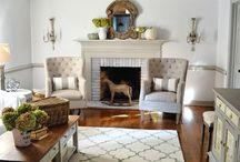 Adair Park House: Living Room