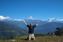 "Annapurna Region / Central Nepal is dominated by the Annapurna Himal and the village of Pokhara. There are three major trekking routes in central Nepal: to Jomsom, to Annapurna Sanctuary, and a circuit of the Annapurna Himal itself. Pokhara is also a good starting place for short treks of one to four days, including the ""Royal"" trek, which is described here. Mustang is also geographically a part of the Annapurna region. About two-thirds of the trekkers in Nepal visit the Annapurna region."