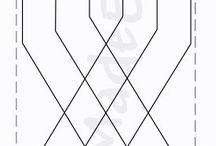 Quilt patterns/doorpitten