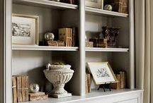 bookcases / by Lee Anne La Forge