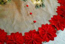 árboles de Navidad alfombras