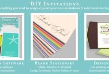 Invitation & Design Software / by Sarah Jones