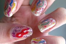 Nail art de Carnaval