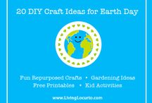 HOLIDAY APRIL - Earth Day DIY Craft Projects / by Corrie Lawrence