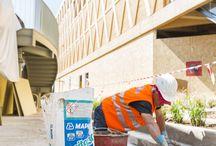 Padiglione Iran - Expo 2015 / Ancoraggi strutturali, impermeabilizzazioni e posa delle ceramiche con MAPEFILL,  MAPELASTIC SMART, MAPETEX SEL, MAPEBAND SA, ELASTOCOLOR WATERPROOF, ADESILEX P9
