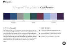 cool summer - cool winter wardrobe