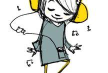 MUSIC / Music ilustrations