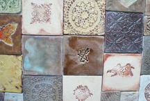 Artkafle home decors / tiles, washbasin, floor