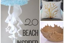 beach inspired / Beach inspired crafts and home decor