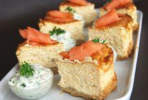 Cuisine / Cheesecake saumon
