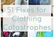 clothing maintainance