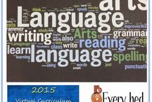 Homeschool: Language Arts / Curriculum and resources for teaching homeschool language arts -- grammar, spelling, writing, literature, reading