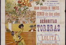 The Art in Bullfight Posters