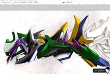 Photoshop Graffiti Tutorials / by Graffiti Creator