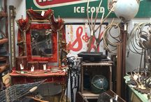 """Inspirational Junk / Junk is another word for """"cool stuff"""". Put junk together just right and your home looks layered, lived in and authentic. Looking to create your own style? We've  got lots of """"junk"""" at The Mart Collective."""