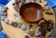 nursery inspiration - patterns and loose parts
