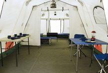 Arctic Tent / Interior of the Arctic Tent