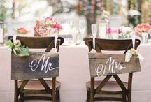 Wedding Inspiration / Chalkboards and liquid chalk are becoming quite the trend in weddings. Here are some ideas.