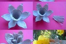 fiori di cartone