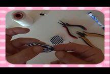 DIY handmade jewerlys / Video tutorials of how to make jewerlys