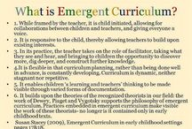 What is emergent curriculum