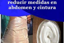 Cremas caseras para reducir abdomen