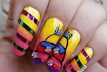 Birthday Nails | Birthday nail Designs | B-day Nails | B-Day Manicure