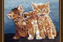 borduren kat