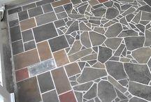 Broken Slite Floor