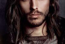 Men's Long Hair / Hair Style