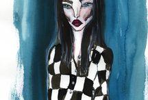 Illustration / Fashion and beauty illustrations