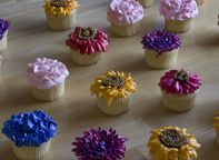 Party - Flower and Fairy Cupcakes