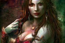 Victoria art fantasy - vampire