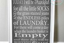 ~ Laundry Room ~ / by Tara Burdick