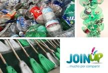 JoinUp Verde / Aquí os dejamos consejos útiles y sencillos para que recicléis y optimicéis a diario vuestros recursos. ¡Pensemos en verde!