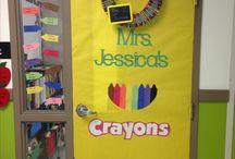 Classroom door Designs